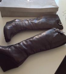 Guliver čizme,puna peta,koža