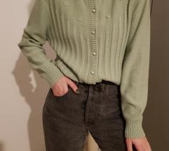 Vintage džemper na kopčanje