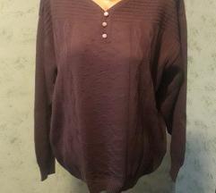 Tamnoljubičasta majica/pulover