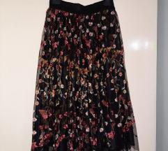 Plisirana podstavljena suknja Marx
