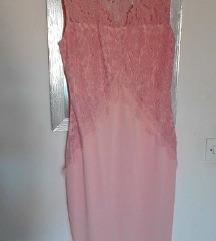 NOVA roza haljina bodycon
