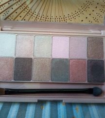 Maybelline THE BLUSHED nudes paleta sjenila