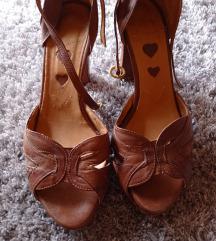Kožne sandale ( pt gratis )