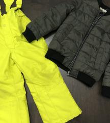 Lot jakna i skijaške hlače 116 i 128