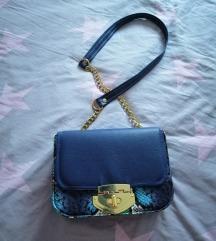 Lovely bags plava torba