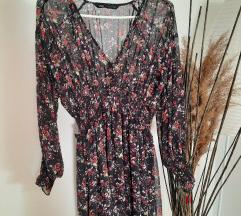 Zara cvjetna haljina s etiketom
