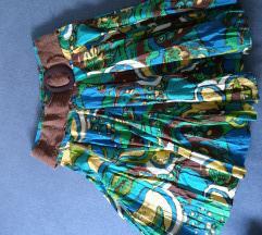 Pamučna midi suknja