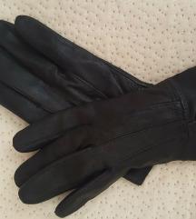 Rukavice prava koža crne