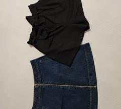 Lot traper suknja i paper bag hlačice