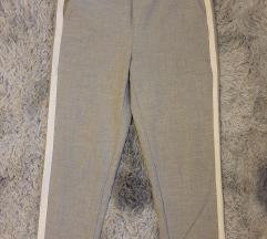 Zara sive hlače s crtom
