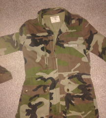 Military jacket pull and bear