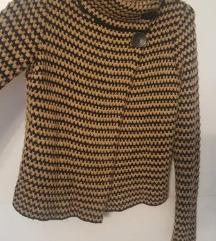 Top Shop džemper s gumbima, bež crni S, M