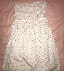 Bijela mini haljina