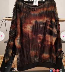 NOVO Unikatna oversized tunika / majica 38-42