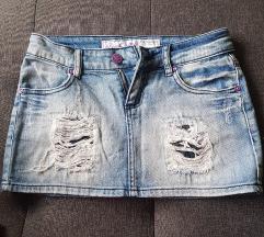 Traper mini suknja