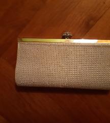 Mala srebrna torbica s cirkonima