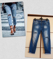 Boyfriend ripped jeans (75 kn)