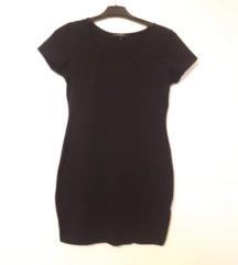 Crna klasicna uska haljina za M, L