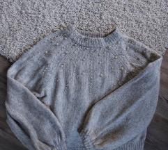 Zara pulover s perlicama S %%%