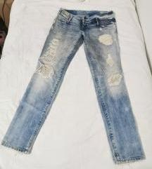 diesel ripped jeans lowky 29/34