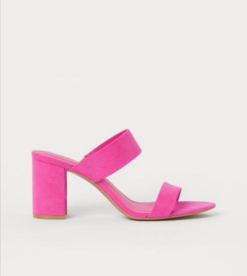 Pink papuče