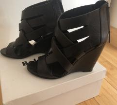 Original kožne BALDININI cipele na punu petu