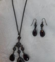 Avon komplet ogrlica i naušnice