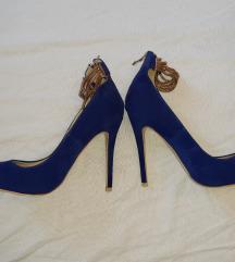 Kraljevsko plave sandale