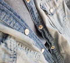Jeans duza kosulja M