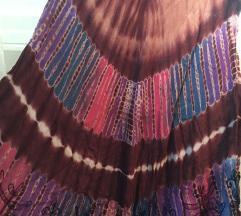 BATIK etno haljina punog kruga