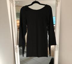 Crna haljina s resicama