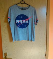 H&M NASA siva majica L