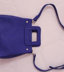 Pull&bear ljubicasta mini torbica