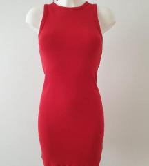 Zara crvena haljina, vel real.36