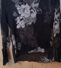 SISLEY crna prozirna majica
