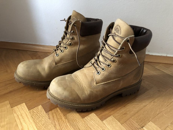 Timberland kožne čizme