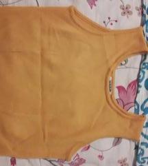 Naranđasta pletena majica