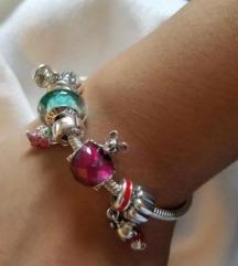 Pandora Mickey Maus sa srcem privjesak