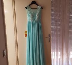 Duga haljina s cirkonima Bariba %%sada samo 100kn!