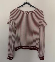 Bershka prugasta bluza