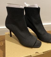 STRADIVARIUS peep-toe ankle boots