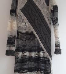 DIESEL zimska pletena haljina 38