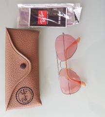 Ray Ban Aviator Pink Photochromic