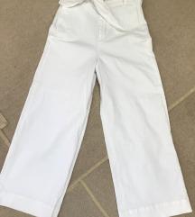 Zara culotte bijele hlace