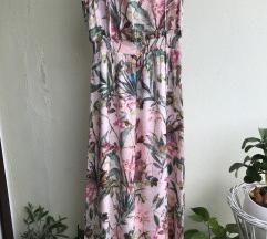 Hallhuhuber Nova svilena duga haljina vel 36