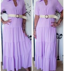 Nova maxi haljina s pojasom