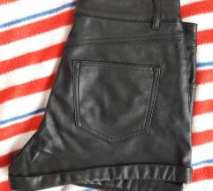 Kratke hlače od umjetne kože (H&M)