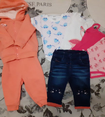 Lot odjeće za bebe 62/68🧚♀️ sa poštarinom