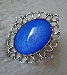 Prsten ''Royal blue'' (ručni rad)