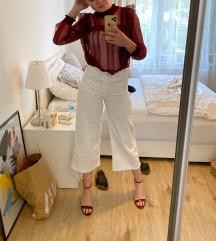 Bijele široke traperice